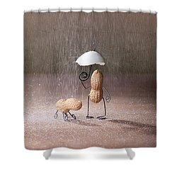 Bad Weather 02 Shower Curtain by Nailia Schwarz