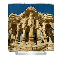 Shower Curtain featuring the photograph Bada Bagh  by Yew Kwang