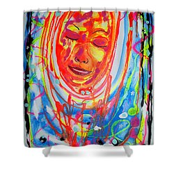 Baddreamgirl Shower Curtain