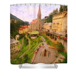 Badhofgastein Shower Curtain