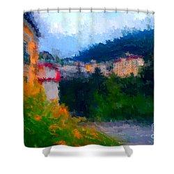 Badhofgastein II Shower Curtain