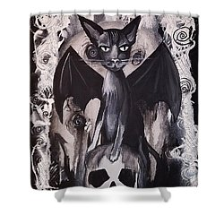 Badkitty Shower Curtain