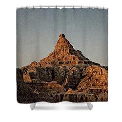 Badlands At Sunrise Shower Curtain
