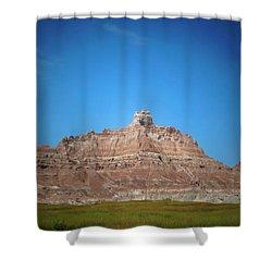 Badlands Canyon Shower Curtain by Heidi Hermes