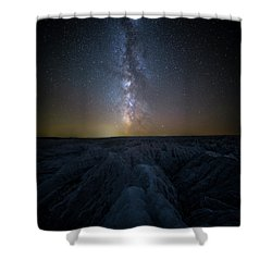 Badlands II Shower Curtain