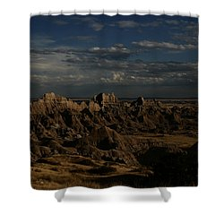 Badlands National Park Shower Curtain
