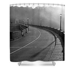 Bagnell Dam Shower Curtain