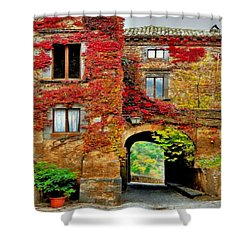 Bagnoregio Italy Shower Curtain