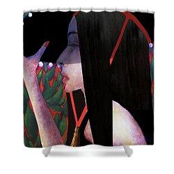 Baha Shower Curtain