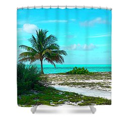 Bahama Beach Photo Shower Curtain