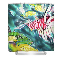 Bahamaian Delicacies Shower Curtain