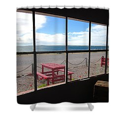 Bahia Bustamante Window Shower Curtain