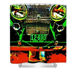 Bahre Car Show II 21 Shower Curtain by George Ramos