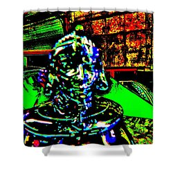 Bahre Car Show II 23 Shower Curtain by George Ramos