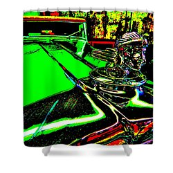 Bahre Car Show II 24 Shower Curtain by George Ramos