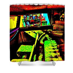 Bahre Car Show II 27 Shower Curtain by George Ramos