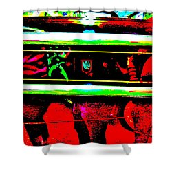 Bahre Car Show II 28 Shower Curtain by George Ramos
