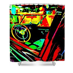 Bahre Car Show II 29 Shower Curtain by George Ramos