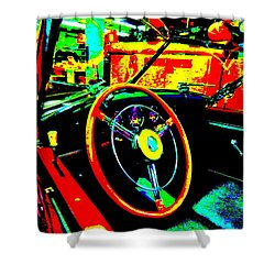 Bahre Car Show II 30 Shower Curtain by George Ramos