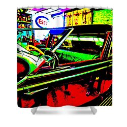 Bahre Car Show II 31 Shower Curtain by George Ramos