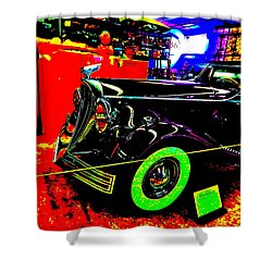 Bahre Car Show II 32 Shower Curtain by George Ramos
