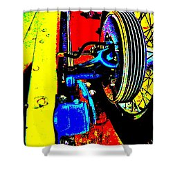 Bahre Car Show II 37 Shower Curtain by George Ramos