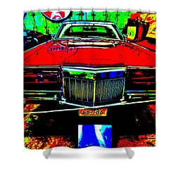 Bahre Car Show II 38 Shower Curtain by George Ramos