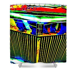 Bahre Car Show II 39 Shower Curtain by George Ramos
