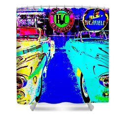 Bahre Car Show II 40 Shower Curtain by George Ramos