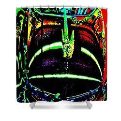 Bahre Car Show II 41 Shower Curtain by George Ramos