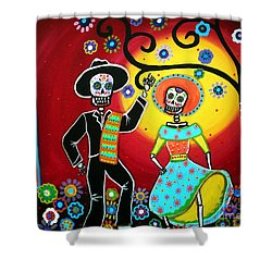 Bailar Shower Curtain