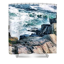 Bailey Island No. 3 Shower Curtain