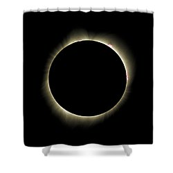 Bailys Beads - 2017 Total Solar Eclipse Shower Curtain