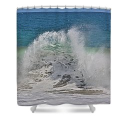 Baja Wave Shower Curtain