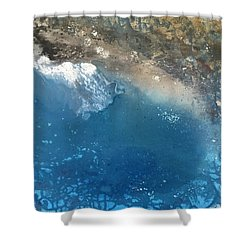Bajamar Shower Curtain by Antonio Romero