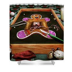 Shower Curtain featuring the photograph Baker - Cookie - How Do You Eat Them? by Mike Savad