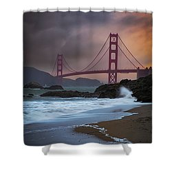 Baker's Beach Shower Curtain