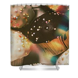 Bakers Cupcake Delight Shower Curtain