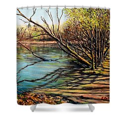 Bakers Pond Ipswich Ma Shower Curtain