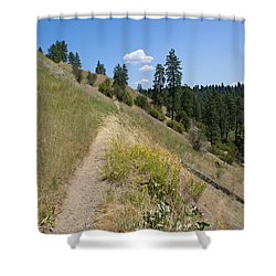 Shower Curtain featuring the photograph Bakery Hill by Ben Upham III