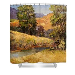 Bakesfield Creek Afternoon Shower Curtain