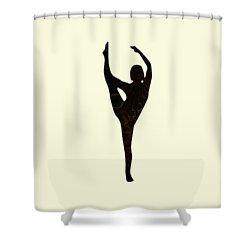 Balance Shower Curtain by Anastasiya Malakhova