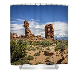 Balanced Rock Shower Curtain