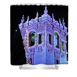 Balboa Park December Nights Celebration Details Shower Curtain