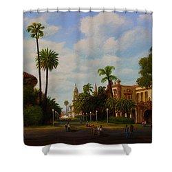 Balboa Park Shower Curtain