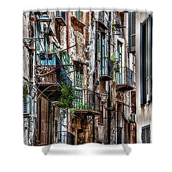 Balconies Of Palermo Shower Curtain
