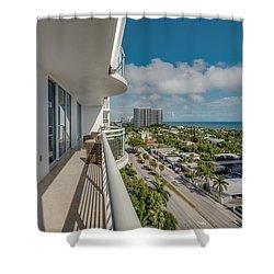 Balcony Life Shower Curtain