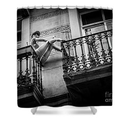 Balcony Scene Shower Curtain