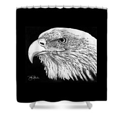 Bald Eagle #4 Shower Curtain by Bill Richards
