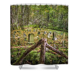 Bales Cemetery Shower Curtain